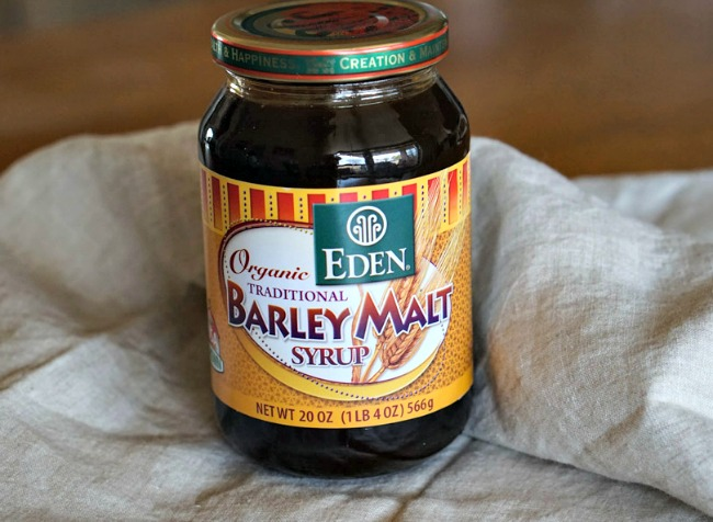 Jar of Barley Malt syrup