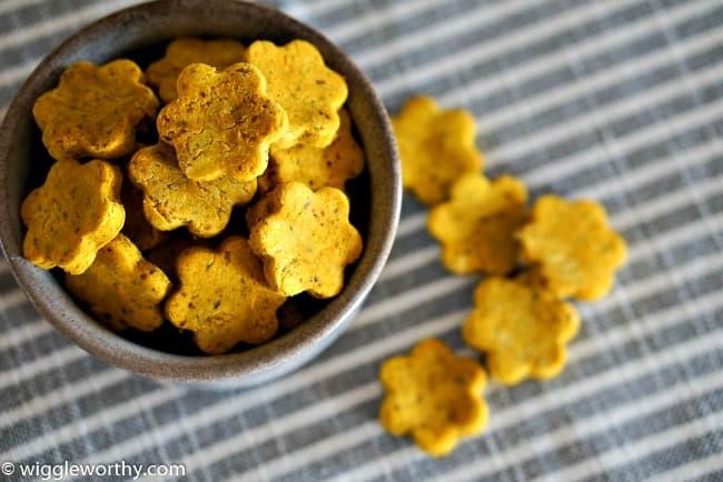 Homemade Pumpkin Turmeric Dog Treats